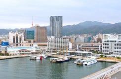 Kobe Meriken Park Ferry Terminal Royalty Free Stock Photo