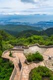 Kobe miasto w górze Rokko obrazy royalty free