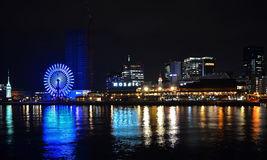 Kobe Mosaic Seaside Shopping Complex royalty-vrije stock foto's
