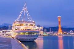 KOBE Port en JAPÓN Fotografía de archivo