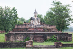 White Buddha remains Stock Photography