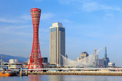 Kobe port in japan Stock Photography