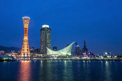 Kobe port in japan Royalty Free Stock Photography