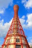 Kobe Port Tower med härlig himmel Royaltyfria Foton