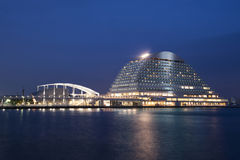 Kobe port w Japan obrazy stock