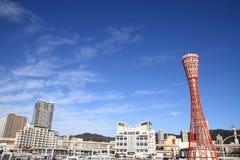 Kobe porttorn i Kobe, Hyogo Arkivfoton