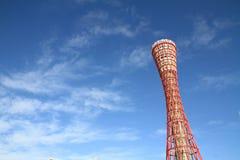 Kobe porttorn i Kobe, Hyogo Arkivbild
