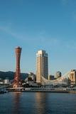 Kobe portu wierza Zdjęcia Stock