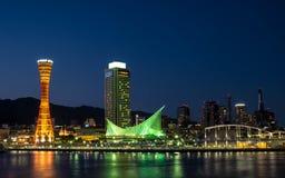 Kobe portu wierza Obrazy Stock