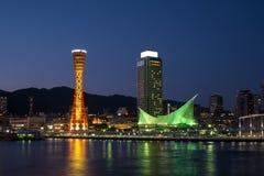 Kobe portu wierza Fotografia Stock