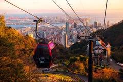 Kobe Ropeway cable car Royalty Free Stock Images