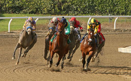 Kobe's Back wins The San Vincente Stakes Stock Images