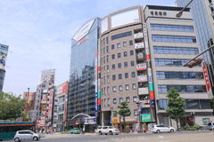 Kobe Sannomiya city centre Japan Royalty Free Stock Image