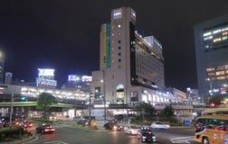 Kobe cityscape night Japan  Royalty Free Stock Photography