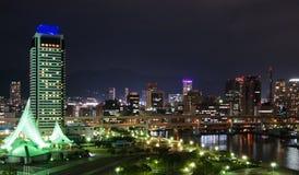Kobe Seafront Night Royalty Free Stock Photos