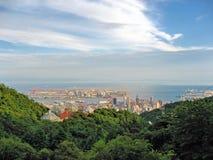 Kobe Skyline Royalty Free Stock Image