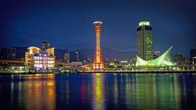 Kobe-Skyline Lizenzfreies Stockbild