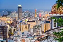 Kobe Skyline Stock Image