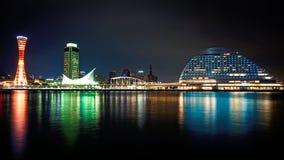 Kobe skyline stock images