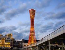 Kobe Tower fotografering för bildbyråer