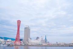KOBE, JAPAN - January 31, 2016:Kobe tower at  Port of Kobe Stock Photography