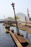 Kobe trzęsienia ziemi pomnik zdjęcie stock