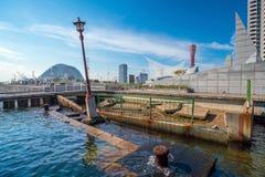 Kobe trzęsienie ziemi Memorial Park, Japonia zdjęcie royalty free