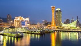 Kobe wierza panorama fotografia stock