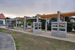 Koberovy Colonnade Royalty Free Stock Photo