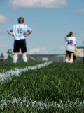 kobieca drużyna piłkarska Obraz Stock
