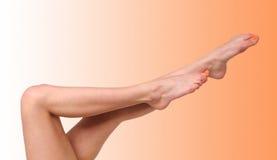 kobiece nogi Fotografia Stock