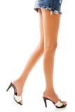 kobiece nogi Obraz Royalty Free