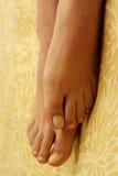 kobiece stopy Obrazy Royalty Free