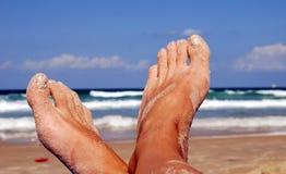kobiece stopy Fotografia Stock