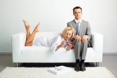Kobiecy biznes fotografia royalty free