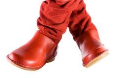 kobiecy czerwone buty. fotografia royalty free