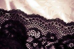 Kobiecy koronkowy underclothes tło Obrazy Stock