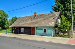 Kobiernice village in Poland. Royalty Free Stock Images