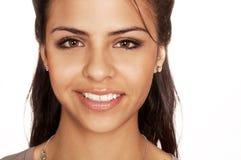 kobiet ładni uśmiechnięci potomstwa obrazy stock