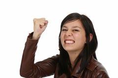 kobiet agresywni gniewni potomstwa Fotografia Royalty Free