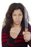 kobiet agresywni potomstwa Zdjęcie Royalty Free