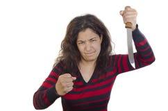 kobiet agresywni potomstwa Obrazy Royalty Free
