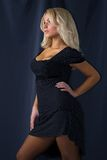 kobiet atrakcyjni blond potomstwa Zdjęcie Stock