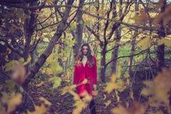 kobiet atrakcyjni lasowi potomstwa obraz royalty free