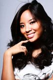 kobiet azjatykci piękni potomstwa Obraz Royalty Free