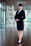 kobiet biznesowi uśmiechnięci potomstwa Obraz Stock