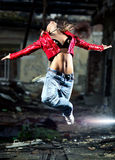 kobiet dancingowi potomstwa Obrazy Royalty Free