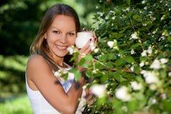 kobiet kosmetyczni kremowi potomstwa zdjęcie royalty free