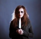 kobiet nożowi potomstwa obrazy stock