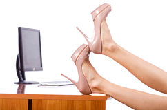 Kobiet nogi Zdjęcia Royalty Free